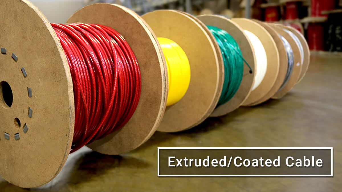 Coated Cable